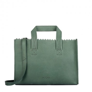 MYOMY | My Paper Bag mini | Hunter Forest Green