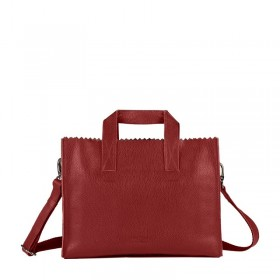 MYOMY | My Paper Bag Handbag cross-body | Rambler Red