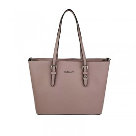 Flora & Co | F9126 Shopper Saffiano | Vieux rose
