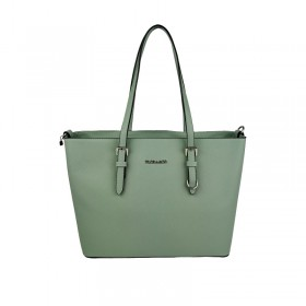 Flora & Co | F9126 Shopper Saffiano | Mint