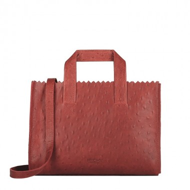 MYOMY | My Paper Bag mini | Ostrisch Red