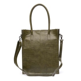Zebra Trends | Natural Bag Rosa | Army Green