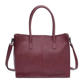 Zebra Trends | Natural Bag Lisa | Bordo