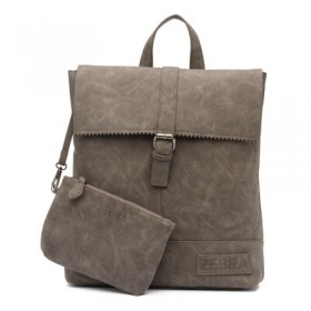 Zebra Trends | Backpack Loiza Box 3 | Grey