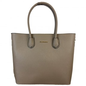 Flora & Co | F9246 Shopper Saffiano | Taupe