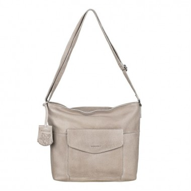 Burkely | Just Jackie Crossover Hobo | Light Grey