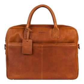 Burkely | Antique Avery laptopbag 15'' | Cognac