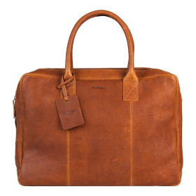 Burkely | Antique Avery Worker 15.6'' | Cognac