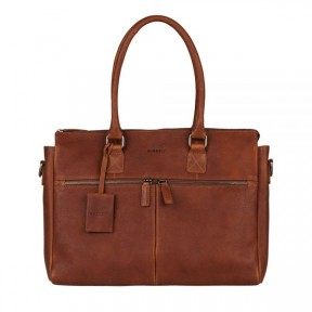 Burkely | Antique Avery Laptop 15.6'' | Cognac