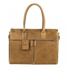 Burkely | Antique Avery Laptopbag 15.6'' | Taupe