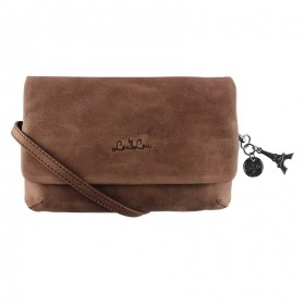 By LouLou | 05CLUTCH18 Bovine | Antique Wood