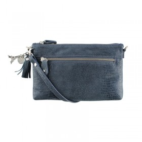 By LouLou | 01POUCH90S Cameleon | Dark Blue