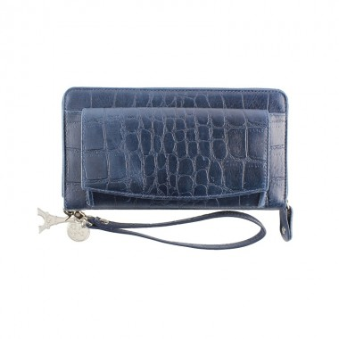 By LouLou | SLB04S Vintage Croco | Blue