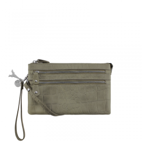 By LouLou | 04POUCH04S Croco | Olive