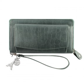 By LouLou | SLB04S Vintage Croco | Forrestgreen