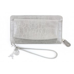 By LouLou | SLB04S Vintage Croco | Grey