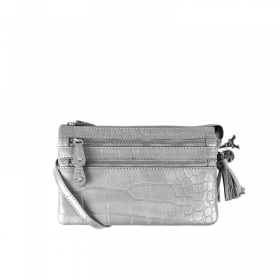By LouLou | 04POUCH120S Croco | Grey