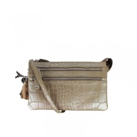 By LouLou | 04POUCH120S Croco | Sand
