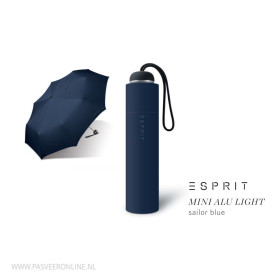 Esprit Paraplu | Mini Alu Light | Sailor Blue