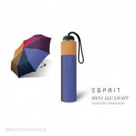Esprit Paraplu | Mini Alu Light | Multicolor