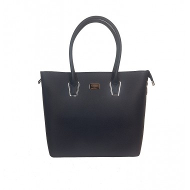 Flora & Co | F9246 Shopper Saffiano | Navy