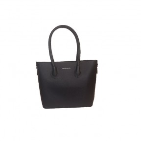 Flora & Co | F9248 Shopper Saffiano | zwart