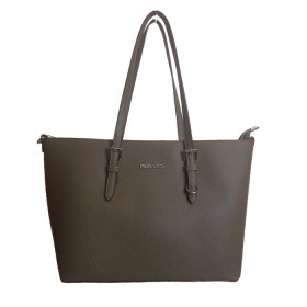 Flora & Co | F9126 Shopper Saffiano | Khaki