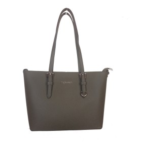 Flora & Co | K9179 Shopper Saffiano | Khaki