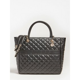 Guess | Illy Quilted Shopper | Black