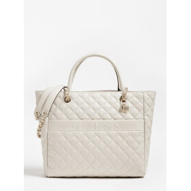 Guess | Illy Quilted Shopper | Light Grey