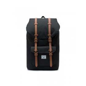 Herschel | 10014 Little America | 15 inch | 2462 Black Saddle Brown