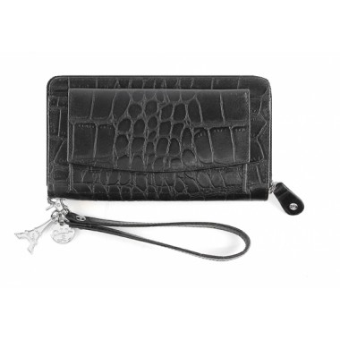 By LouLou | SLB04S Vintage Croco | Black