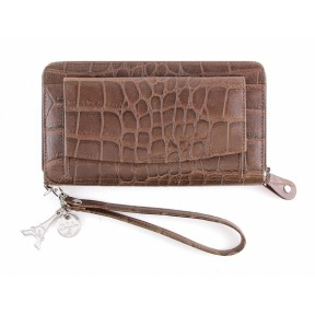 By LouLou | SLB04S Vintage Croco | Brown