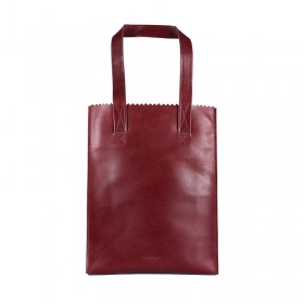 MYOMY | My Paper Bag Long Handle zip | Hunter Waxy bordeaux