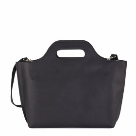 MYOMY | My Carry Bag Handbag | Waxy Black