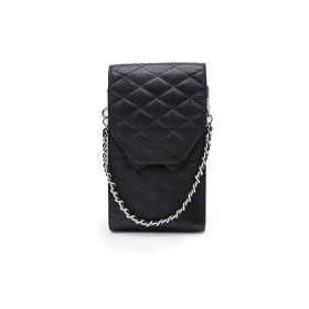 Mosz | Phone Bag Quilted | Black