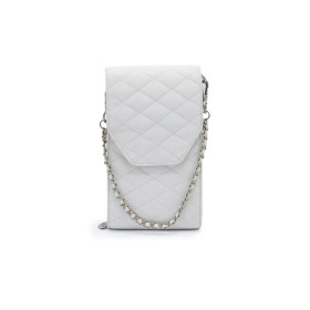 Mosz | Phone Bag Quilted | Off White