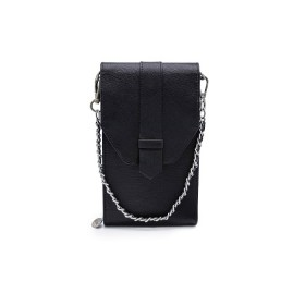 Mosz | Phone Bag Saffiano | Black
