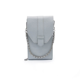 Mosz | Phone Bag Saffiano | Light Grey