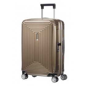 Samsonite | Neopulse spinner 55cm | metallic zandkleurig