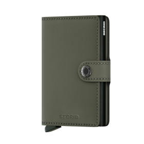 Secrid | Miniwallet Matte | Green - Black