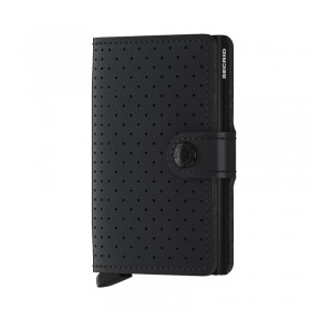 Secrid | Miniwallet Perforated | Black