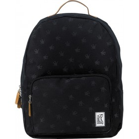 The Pack Society | Classic Backpack | Black Skaterboy