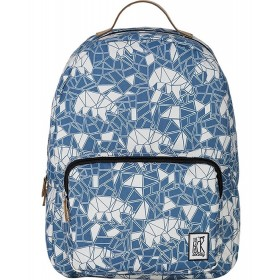 The Pack Society | Classic Backpack | Blue Bears