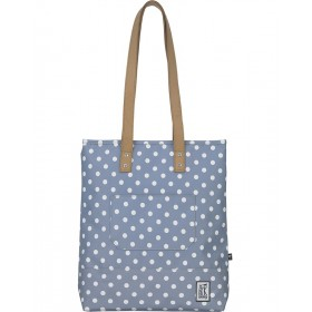 The Pack Society | Shopper | Grey with white dots