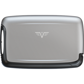 Tru Virtu | Card Case Silk Line | Silver Arrow