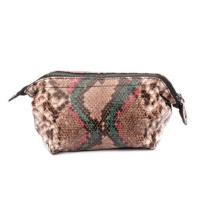 Zebra Trends | Natural Bag Emma | pink/petrol