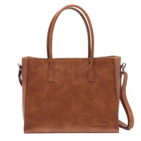 Zebra Trends | Natural Bag Lisa | Cognac