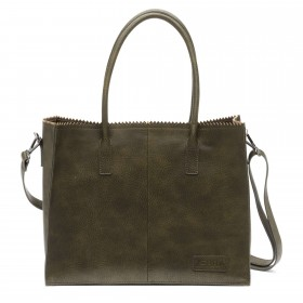 Zebra Trends | Natural Bag Lisa | Army Green