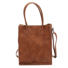 Zebra Trends | Natural Bag Rosa | Cognac